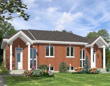 Duplex House Models