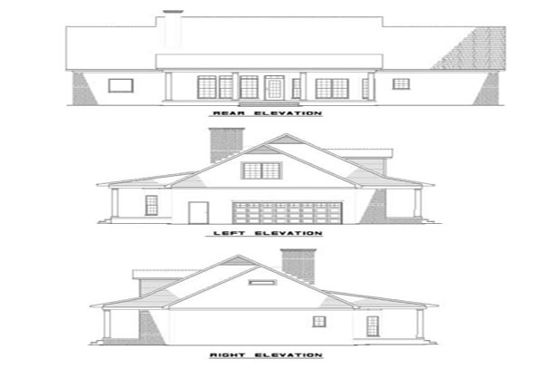 Hampton circle house plan house plans Circle house plans