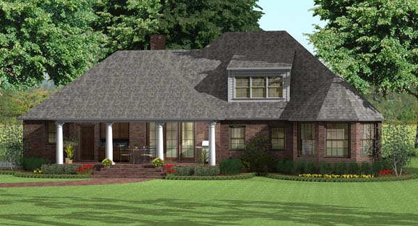 About log home plans details and their plans from for Circle house plans