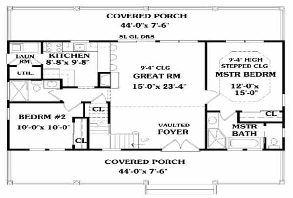 Southwest House Plans · P_Front_Exteriorbeach_house_plans