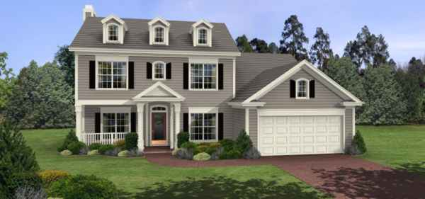 House plans and designs collections for sale types of for 2 story colonial house plans
