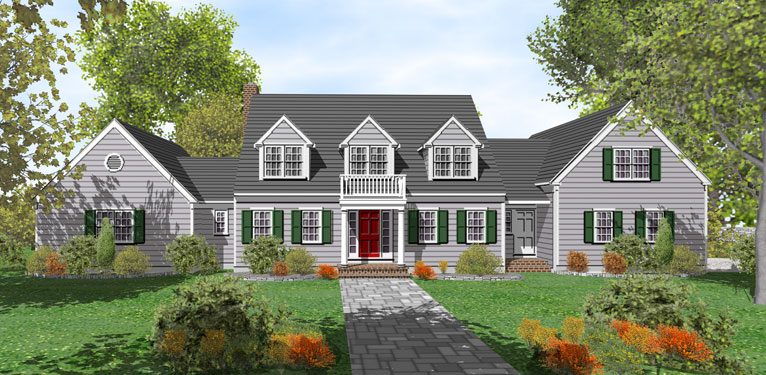 Dream ranch house plans and designs for sale types of for Cape cod beach homes for sale