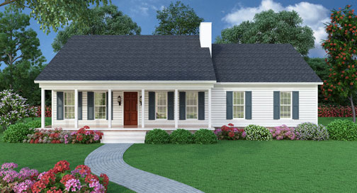 House plans and designs collections for sale types of for Empty nester home plans designs